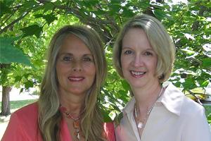 Tami Briggs and Glenda Cedarleaf