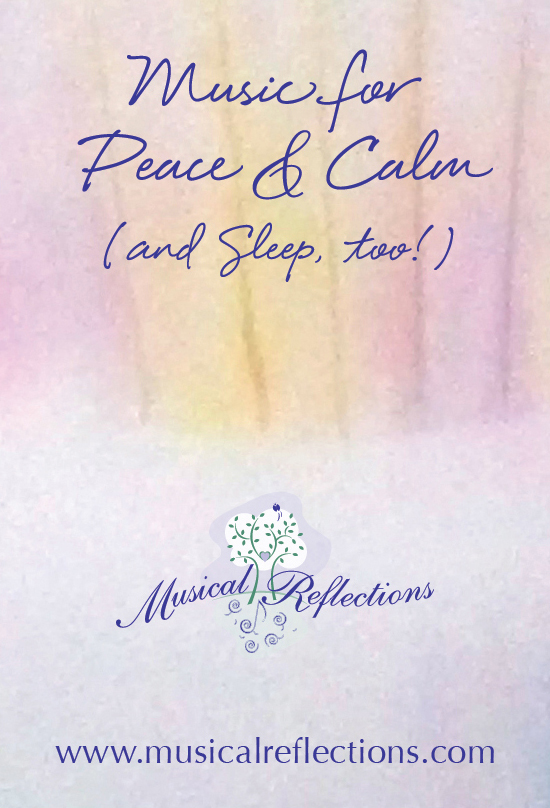 Angelic Vibrations of Light and Love – Music for peace, calm, and sleep. MP3 player pre-loaded with four hours of instrumental harp therapy music by Tami Briggs, therapeutic harpist.